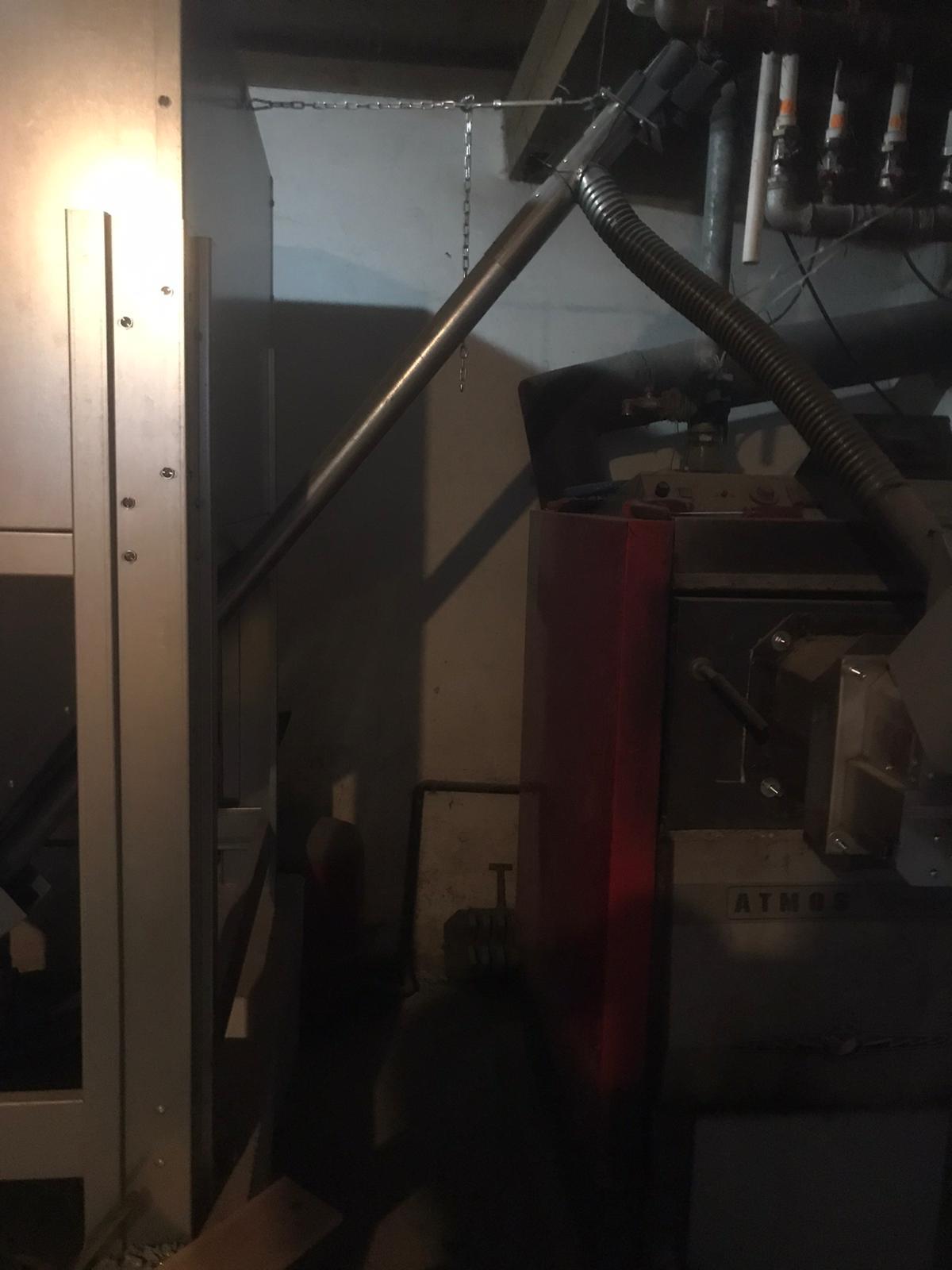 Transformare CT lemn ATMOS 80Kw in CT peleti 80 Kw, Pensiunea Casa Avram, Sucevita